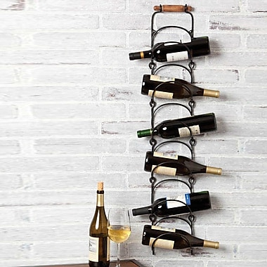 Cape Craftsmen 6 Bottle Wall Mounted Wine Rack