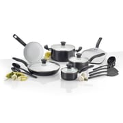 T-fal Initiatives Ceramic 16 Piece Cookware Set