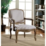 Hokku Designs Basil Arm Chair; Striped