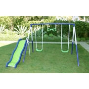 Natus Inc Sierra Vista Metal Slides and Swing Set