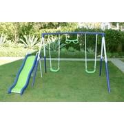 Natus Inc Sierra Vista Metal Slides and Swing Set