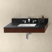 Ronbow Adina 36'' Wall Mount Bathroom Vanity Base Cabinet in Dark Cherry