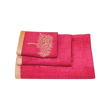 Dainty Home Regalia 3 Piece Towel Set; Coffee