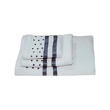 Dainty Home Darla Polka Dots 3 Piece Towel Set; Sky Blue
