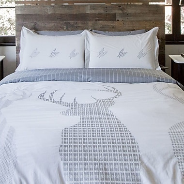 Thread Experiment Watchdogs Duvet Set; Twin / Twin XL