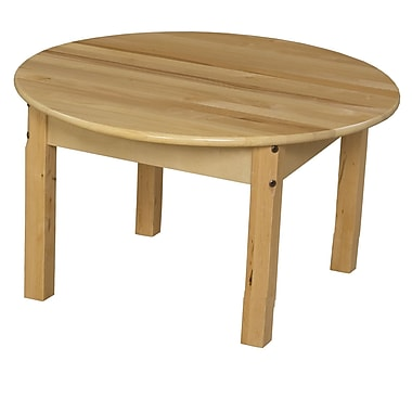 Wood Designs 30'' Round Activity Table; 15'' H x 30'' W x 30'' D
