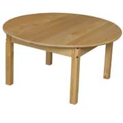 Wood Designs Circular Activity Table; 17'' H x 36'' W x 36'' D
