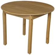 Wood Designs Circular Activity Table; 30'' H x 36'' W x 36'' D