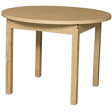 Wood Designs Circular Activity Table; 27'' H x 36'' W x 36'' D