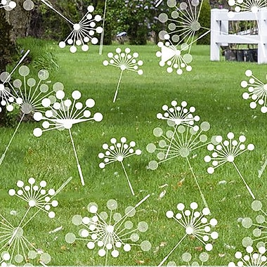 Odhams Press Dandelion Decorative Window Film; 45'' H x 36'' W