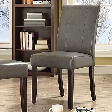 Chateau Imports Marx Side Chair (Set of 2); Grey