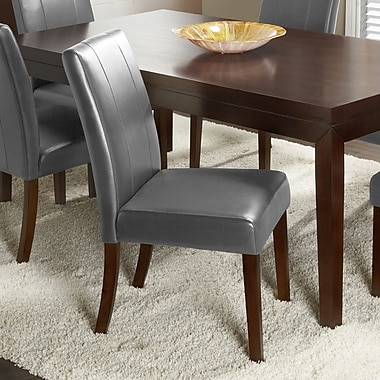 Chateau Imports Marx Side Chair (Set of 2); Dark Grey