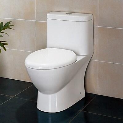 Ariel Bath Platinum Adriana Dual Flush Elongated One-Piece Toilet