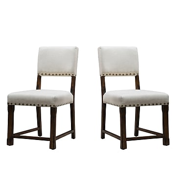 Home Loft Concepts Mayfield Parsons Chair (Set of 2)