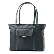 Samsonite Nylon twill/Fleece Ultima 2 Laptop Tote,  Black