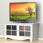 Nexera – Meuble pour téléviseur Pinnacle de 49 po, blanc