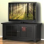 Nexera – Meuble pour téléviseur de 56 po, Pinnacle, noir
