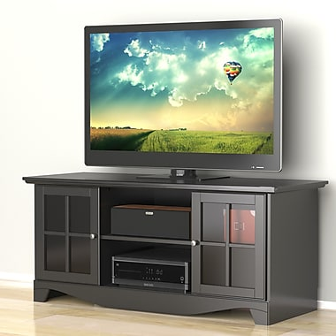 Pinnacle 56-inch TV Stand from Nexera, Black