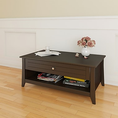 Nexera Elegance Laminate Coffee Table, Espresso
