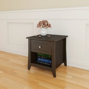 Nexera Elegance Laminate End Table, Espresso, Each (68717499595-2)