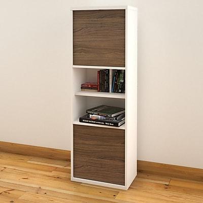 Liber-T 2-Door Bookcase from Nexera