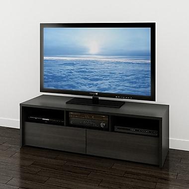 Nexera – Meuble pour téléviseur de 60 po Sereni-T, noir ébène