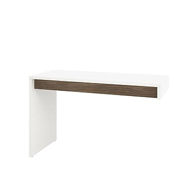Liber-T Reversible Desk Panel from Nexera, White