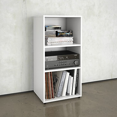 Blvd Open Storage Unit from Nexera, White