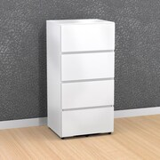 Blvd 3-Drawer Storage Unit with Filing Drawer from Nexera