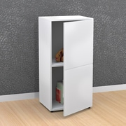 Blvd 1-Door Storage Unit from Nexera, White