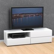 Nexera – Meuble pour téléviseur de 60 po Blvd, blanc