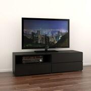 Nexera – Meuble pour téléviseur de 60 po Avenue, noir