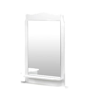 Dixie Mirror from Nexera, White