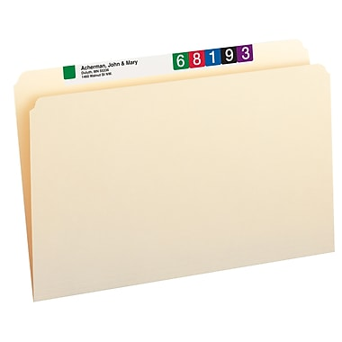 Smead® Single-Ply Tab File Folders