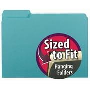 Smead® Interior File Folder, 1/3-Cut Tab, Letter Size, 100/Box