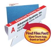 Smead® Viewable Labeling System, Label Refill Pack, Hanging Folder Labels, Ink-Jet and Laser Printers (64915)