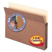 Smead® Expanding File Pocket, Straight-Cut Tab, Legal Size, Redrope, 50/Box