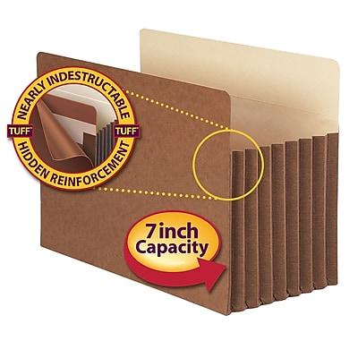 Smead TUFF Straight Cut File Pockets, 7