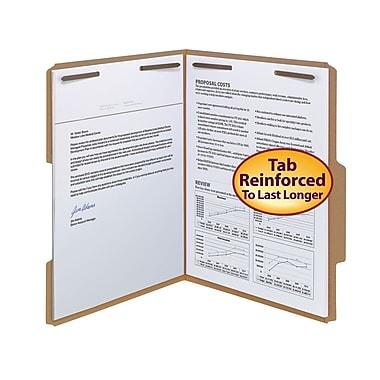 Smead® Guide-Height Kraft Fastener Folders