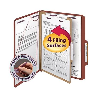 Smead Pressboard Classification Folder, 2