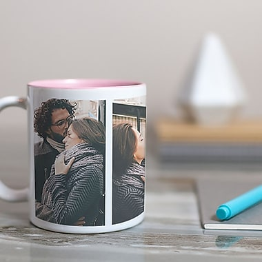 Photo Mug 11oz, Double Image, Custom Gift
