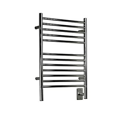 Amba Jeeves Wall Mount Electric E Straight Towel Warmer; Polished