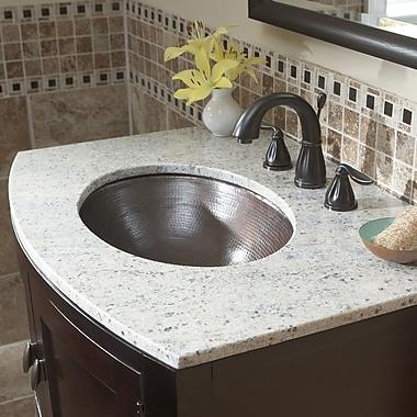 Sinkology Oval Undermount Bathroom Sink