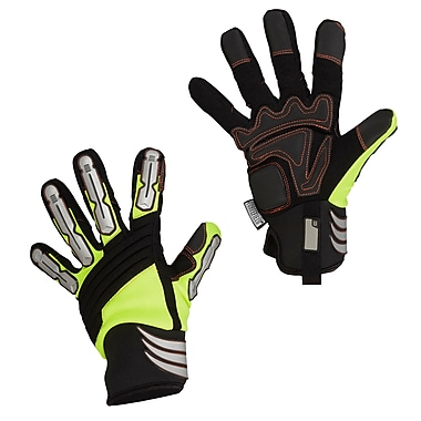 Forcefield Safety High Visibility Mechanics Glove, Small