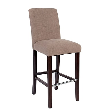 JR Home Collection – Tabouret de comptoir en matériel IF-ST257-BG2PK Harper, beige, paq./2