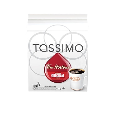Capsules de café T-Disc « Original » Tim Hortons, paq./14