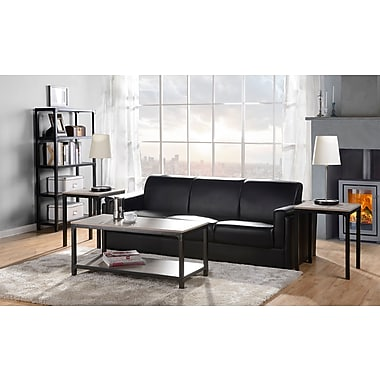 Homestar 3 PC Coffee Table & Side Table Set, Reclaimed Wood