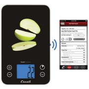 Escali SmartConnect Kitchen Scale with Bluetooth® LED