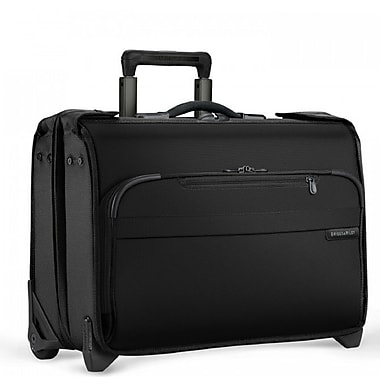 Briggs & Riley Baseline Carry-On Wheeled Garment Bag, Black