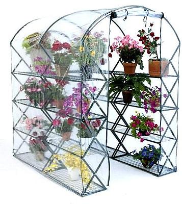 Flowerhouse X-Up 4.5 Ft. W x 6.5 Ft. D Greenhouse